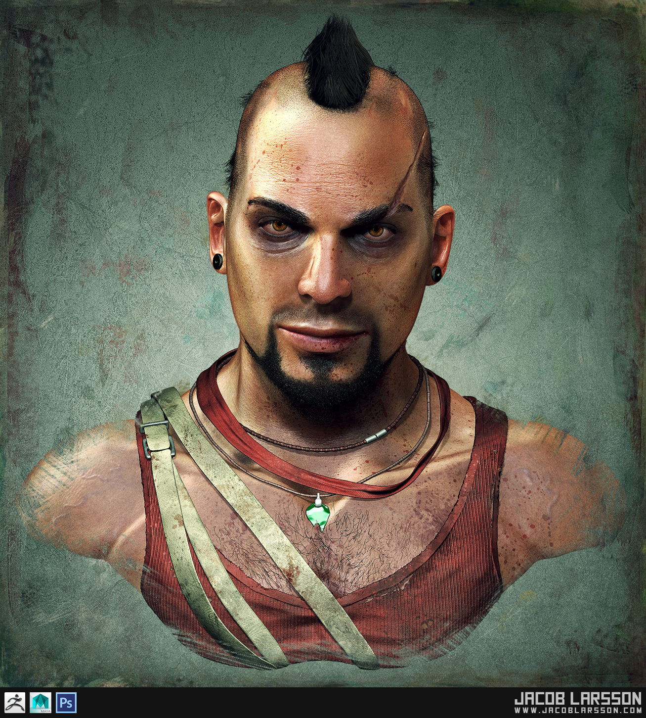 Jacob Larsson 3d Artist Character Artist
